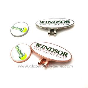 Golf Ball Marker Custom Logo