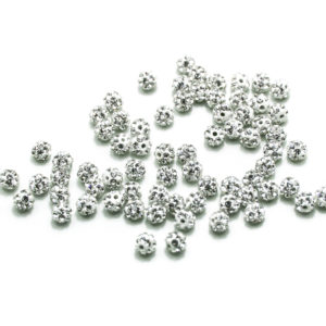 CrystalBead-4mm-white