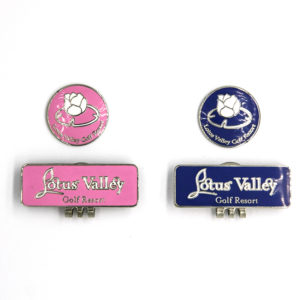 Logo Golf Ball Marker -Hat Clips
