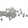 Crystal Diamantine Ball Bead-5mm. Half Drilled 1mm.- Plain Colour