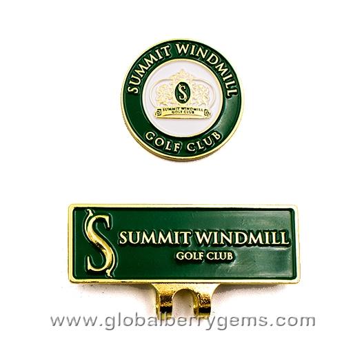 คลิปติดหมวกสนามกอล์ฟ Summit Windmill Golf Club